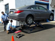 We service domensic and foreigh vehicles