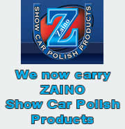 Exclusively available from Save On Auto Center - Zaino Show Car Polish Products - click here to see how to use