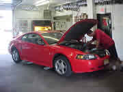We service all types of cars
