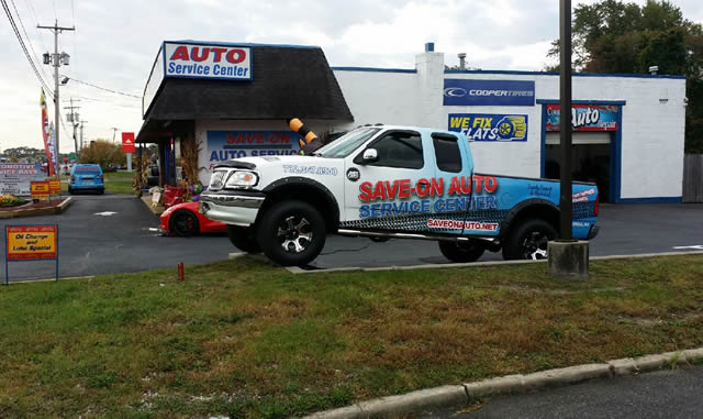 SAVE-ON Auto Service Center - Our newest service vehicle